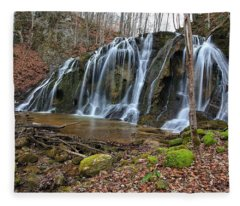 Cobweb Falls Fleece Blanket