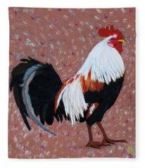 Cock A Doodle Doo Fleece Blanket
