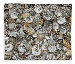 Cockleshells 1 Fleece Blanket