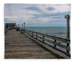 Cocoa Beach  Fleece Blanket