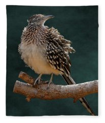 Cocoa Puffed Cuckoo Fleece Blanket