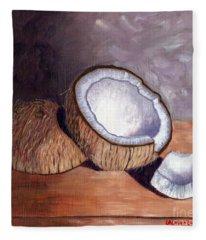 Coconut Anyone? Fleece Blanket