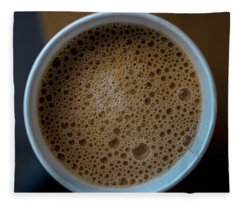 Coffee Cup Starbucks 2383 Fleece Blanket