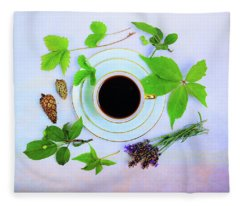Coffee Delight Fleece Blanket
