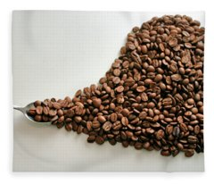 Coffee Lover Fleece Blanket