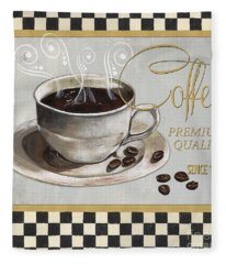 Coffee Shoppe 1 Fleece Blanket