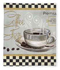 Coffee Shoppe 2 Fleece Blanket