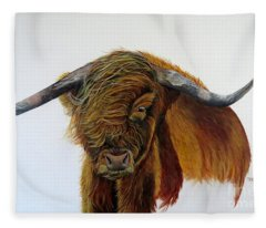 Coinneach  Fleece Blanket