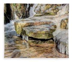 Cold Feet Fleece Blanket
