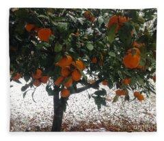 Cold Fruit Fleece Blanket