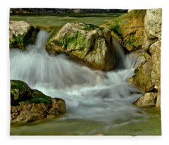 Cold Milky Creek Fleece Blanket