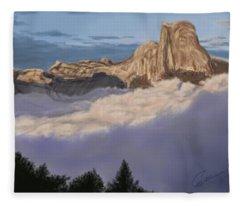 Cold Mountains Fleece Blanket