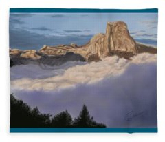 Cold Mountains Fleece Blanket
