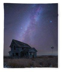 Cold Night  Fleece Blanket