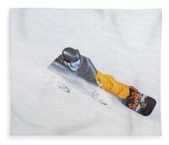 Cold Smoke Fleece Blanket