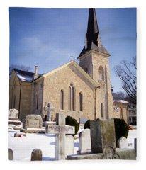 Cold Stone Service Fleece Blanket