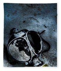 Cold War Casualties Fleece Blanket