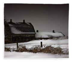 Cold Winter Night Fleece Blanket