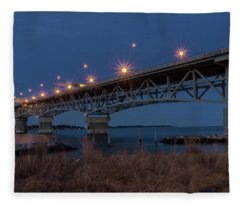 Coleman At Night Fleece Blanket