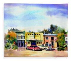 Colfax Main And Church Street Fleece Blanket