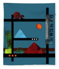 Collage Landscape 2 Fleece Blanket