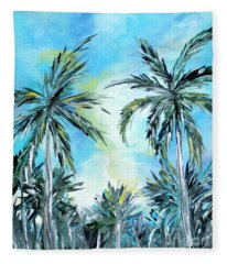Collection. Art For Health And Life. Painting 1 Fleece Blanket