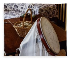 Colonial Needlework Fleece Blanket