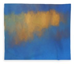 Color Abstraction Lvi Fleece Blanket