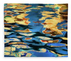 Color Abstraction Lxix Fleece Blanket