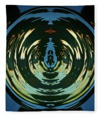 Color Abstraction Lxx Fleece Blanket