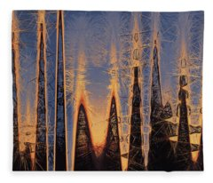 Color Abstraction Xl Fleece Blanket