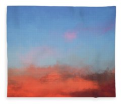 Color Abstraction Xlvii - Sunset Fleece Blanket