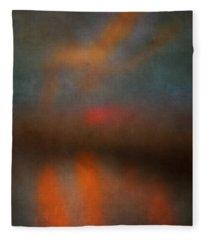 Color Abstraction Xxv Fleece Blanket