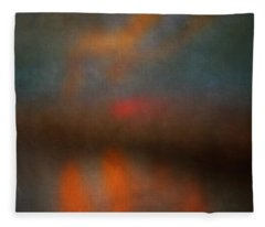 Color Abstraction Xxv Fleece Blanket