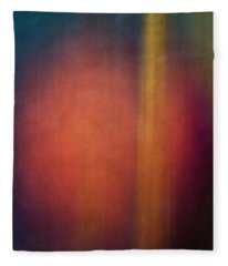 Color Abstraction Xxvii Fleece Blanket