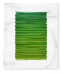 Color And Lines 2 Fleece Blanket