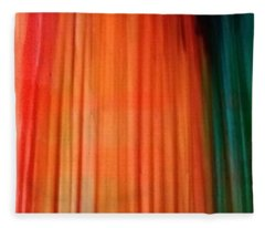 Color Bands Fleece Blanket