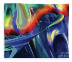 Color Flight Fleece Blanket