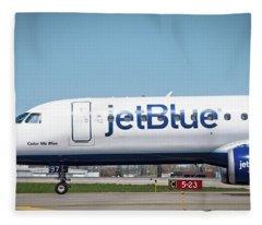 Color Me Blue Fleece Blanket
