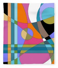 Color Play Fleece Blanket