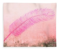 Color Trend Feather In The Wind Fleece Blanket