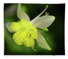 Colorado Columbine Fleece Blanket