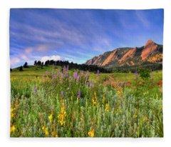 Colorado Fleece Blankets