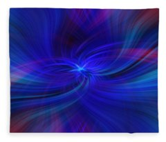 Colorful Abstract. Concept Peace Of Mind Fleece Blanket