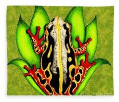 Colorful Beauty Fleece Blanket