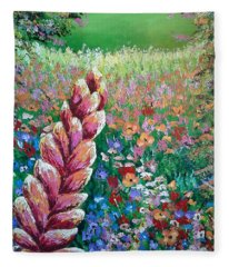 Colorful Day Fleece Blanket