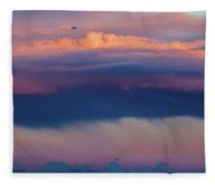 Colorful Journey Fleece Blanket
