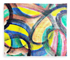 Colorful Soul Fleece Blanket