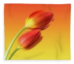 Flower Fleece Blankets