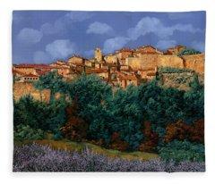 colori di Provenza Fleece Blanket